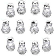 24 Stück Salz und Pfefferstreuer 50 ml Gewürzstreuer Pfeffer Salz Vorratsgläser