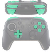 Mint Green ABXY D-pad ZR ZL R L Buttons Set for Nintendo Switch Pro Controller