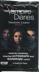 Vampire Diaries Season 1 Factory Sealed Packet / Pack