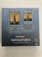 TomTom NAVIGATOR 6 PDA Cell Phone GPS Software CD+Code HP iPAQ Dell Axim X51 New