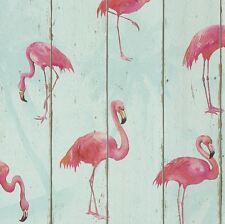 Rasch BARBARA BECKER Flamingo Carta da parati-color foglia di tè 479706