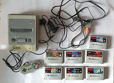Super Nintendo Entertainment System | Sammlung | Mario | Donkey Kong | SNES