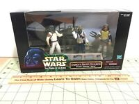Star Wars 1998 POTF Jabba's Skiff Guards Movie Scene! sealed, free ship,#84061