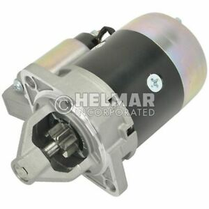 For Clark Forklift Starter 3790819-NEW Straight Drive :Yes Gear Reduction No Vol