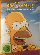 The Simpsons Die komplette Season 19 DVD (2019) Deutsche & English New Shrink