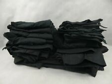 15 Pairs Used Men's & Ladies Black Combat Work Trousers Mix of Sizes & Lengths