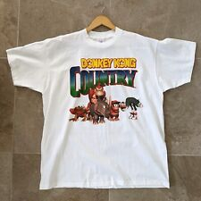 New listing Vintage Donkey Kong Country Shirt Nintendo Promo Single Stitch Xl 1994 Rare