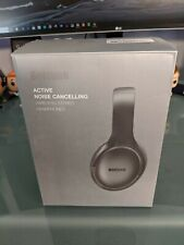 Active Noise Cancelling Headphones 5.0 Over Ear Wireless Headphones with Mic Dee