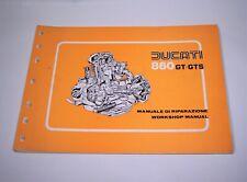 DUCATI BEVEL 860 GT GTS FACTORY WORKSHOP MANUAL BOOK 860GT 860GTS 1974-1979