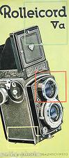 Brochure photographique Rolleicord Va (Anglais)