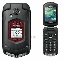 Kyocera DuraXV+ E4520PTT - Black (Verizon) Cell Flip Phone Rugged Waterproof