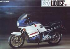 2 x SUZUKI GSX1100EF MOTORBIKE MOTORCYCLE SALES  BROCHURES 1984