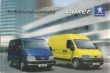 Peugeot boxer 1 Manuel 2005 mode d'emploi Manuel BA