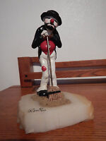 """Ron Lee """"Jeri on Broom"""" #127 RARE & Vintage Signed 1980 by Ron One of the 1st"""