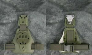 G-Code Mule ISS Drop Leg Holster Carry Platform with RTI Hanger OD Green