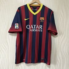 BARCELONA 2013 2014 HOME FOOTBALL SHIRT SOCCER JERSEY NIKE 532822-413
