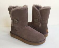 UGG BAILEY BUTTON II STORMY GRAY WATER RESISTANT BOOT USA 10 / EU 41 / UK 8