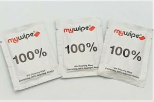 IPA Isopropyl Alcohol Cleaning Wipes 100 Percent Pure Strong 18cm x 10.5cm Large