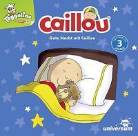 CAILLOU - GUTE NACHT MIT CAILLOU CD  CD NEU