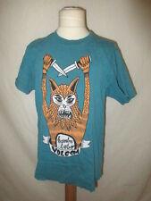 T-shirt Volcom Bleu Taille 12 ans à - 55%