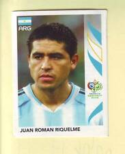 n°181 VIGNETTE PANINI COUPE DU MONDE 2006 JUAN ROMAN RIQUELME ARGENTINE