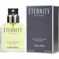 Eternity By Calvin Klein Men 3.4 oz 100 ml *Eau De Toilette* Spray Nib Sealed
