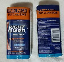 2pk Right Guard COOL 3D 24-Hr INVISIBLE SOLID Sweat-Odor BLOCK ANTIPERSPIRANT