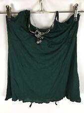 EDC by ESPRIT Top, T-Shirt, grün, Größe S, Neckholder