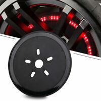 Spare Tire Brake Light LED Third Brake Round Smoke Light for Jeep Wrangler 86-17