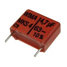 2 WIMA metallisierter poliestere canalizzatore mks4 63v 4,7uf 15mm 089834