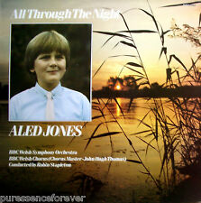ALED JONES/BBC WELSH SO - All Through The Night (UK 15 Tk 1985 LP)