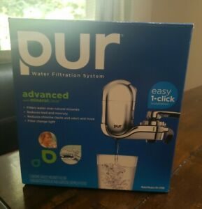 Pur Mineral Clear Model FM-3700B Water Filtration System Chrome