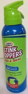 Odor-Eaters Stink Stoppers for Kids & Teens Odor-Killing Dry Spray - 4 oz