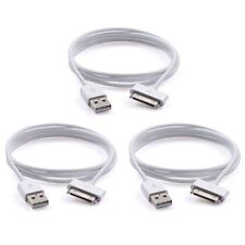 3x USB Sync Data Charging Charger Cable Cord for iPhone4 4S iPod Touch 4th Gen