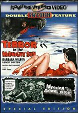 Terror In The Midnight Sun! RARE horror twin pack. Brand New In Shrink!