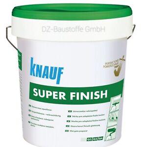 KNAUF Super Finish 20kg gebrauchtfertige Spachtelmasse Gipsspachtel Feinspachtel