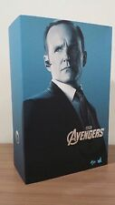 Hot Toys MMS 189 The Avengers Iron Man Agent Phil Coulson Clark Gregg NEW