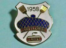 Mayflower Ladies Curling Club est 1958 -Logo Pin