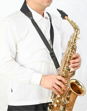 NEW AirCell Cushioned baritone saxophone & bass clarinet Neck Strap-BLK(SNS75)