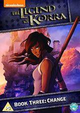 LEGEND OF KORRA - BOOK 3 - CHANGE - DVD - REGION 2 UK