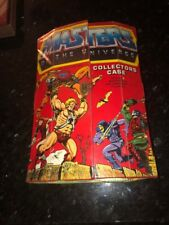 Vintage HeMan Lot Action Figures Masters Of The Universe MOTU Collector Case
