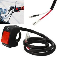 Motorcycle Handlebar light On Off Switch Waterproof ATV Headlight Fog Spot 12V