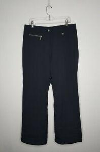 NILS Women's Ski Snowboarding Pants Lined Winter Wear Black Size 12