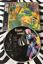 Cyndi Lauper - I Drove All Night / Time After Time Rare 1989 Pic Disc CD Single