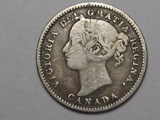 1896 Canadian 10 Cent Coin. Canada.  #55