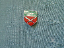OLDER COMMONWEALTH PARLIAMENTARY ASSOCIATION - POLITICAL ENAMEL PIN BADGE