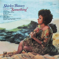 """VINYL LP RECORD Shirley Bassey – Is Really """"Something"""""""