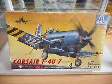 Modelkit Italeri Corsair F-4u 7 Navy Fighter on 1:72 in Box (Sealed)