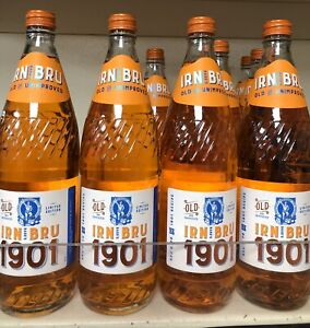 IRN BRU 1901 Full Sugar Limited Edition Christmas  Rare Vintage Scotland Drink