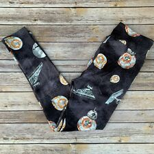 Star Wars Galaxy Wars BB8 Death Star Women's Leggings Plus Size TC 12-20